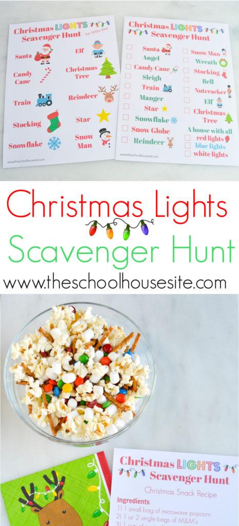 The Schoolhouse Site - Christmas Free Printables