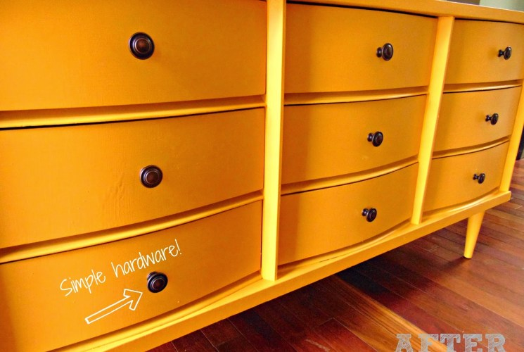 Our Nest: Refinishing Furniture