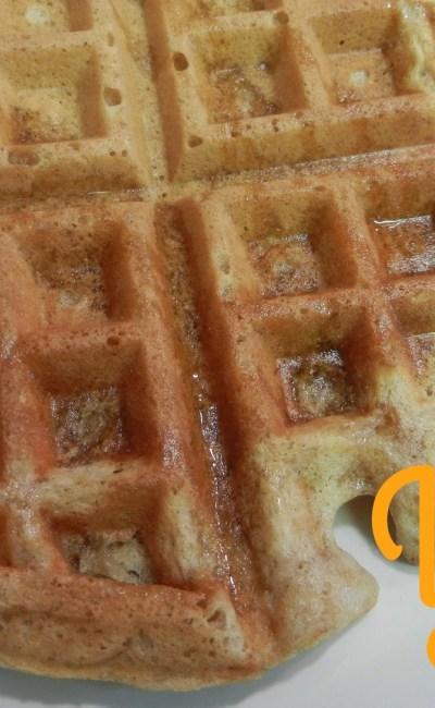 Nest Eats: Banana Nut Waffles