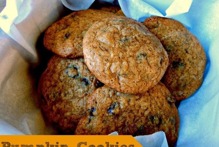 Fall Recipe: Pumpkin Cookies