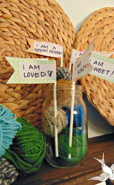Bird's Eye D.I.Y.: I AM Jar
