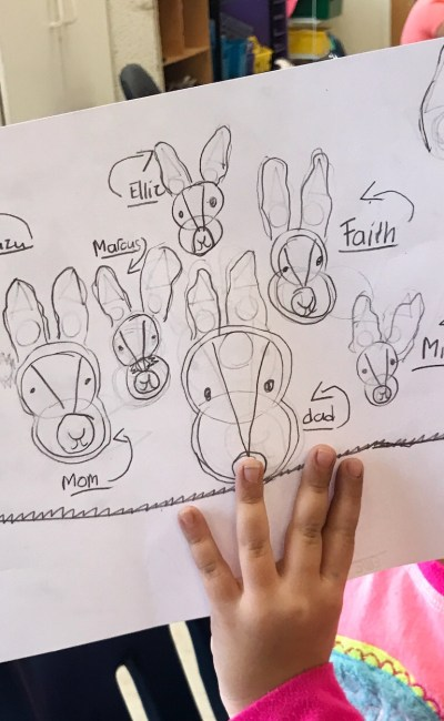 Artist's Corner | How to draw a Bunny!