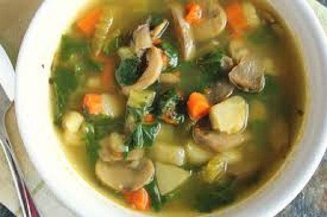 VEGETABLE PEPPER SOUP