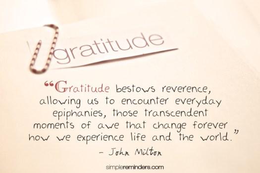 gratitude 30