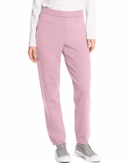 31ff7e47591 Hanes ComfortSoft™ EcoSmart® Cinch Leg Women s Pink Sweatpants