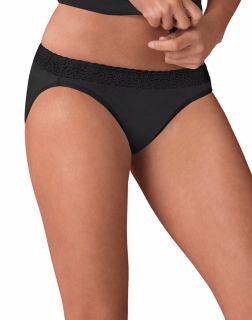 0e26d331834 Women s ComfortSoft® Cotton Stretch Lace Panties with Lace Waistband
