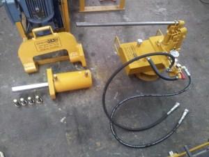 extractor de pines de orugas