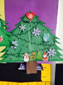 Student's Christmas Tree