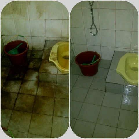 bisnis salon toilet