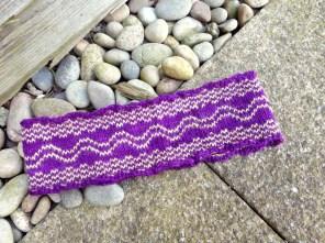 Sidewalk Headband hand knitting pattern by Gradiance Yarns   www.gradianceyarns.co.uk