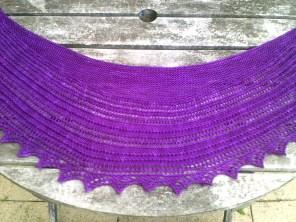 Emma's Shawl hand knitting pattern by Gradiance Yarns   www.gradianceyarns.co.uk