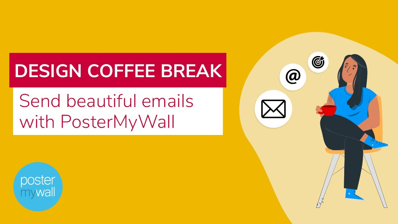 Send beautiful emails with PosterMyWall