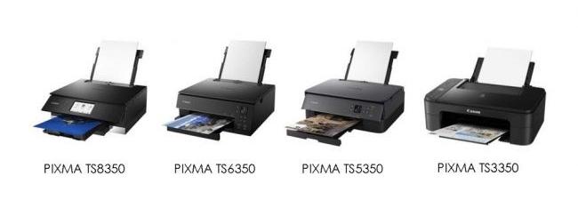 Nouvelles imprimantes pixma canon