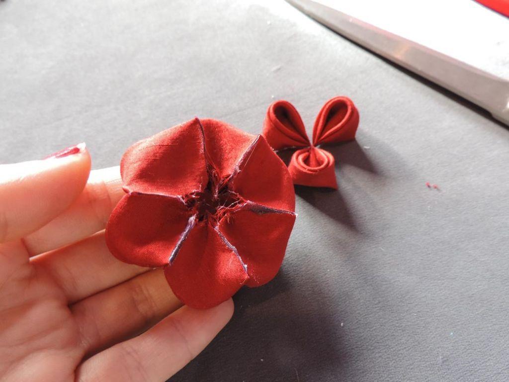 Tutorial bujori - flori kanzashi - pasul-09