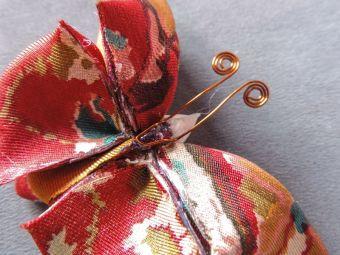 Silk butterfly tutorial 19