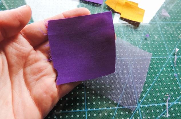 Iris flower tutorial - making the pointy petals 1