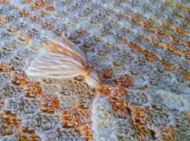C2c corner-to-corner crochet baby blanket 2