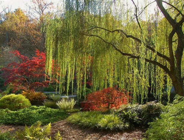 Gibbs Gardens in Octombrie