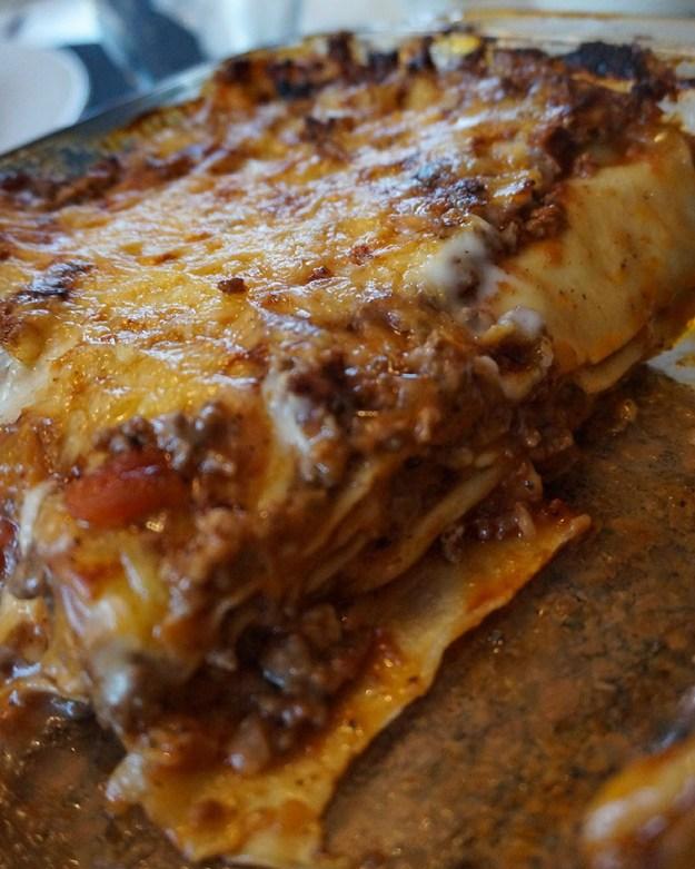 Enkel-lasagne-beskuren