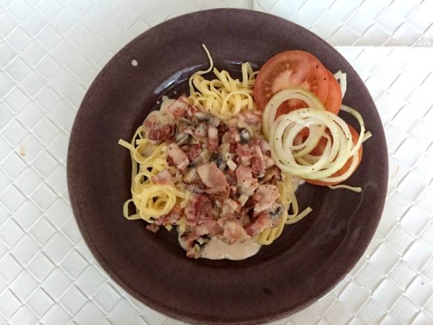 Baconpasta