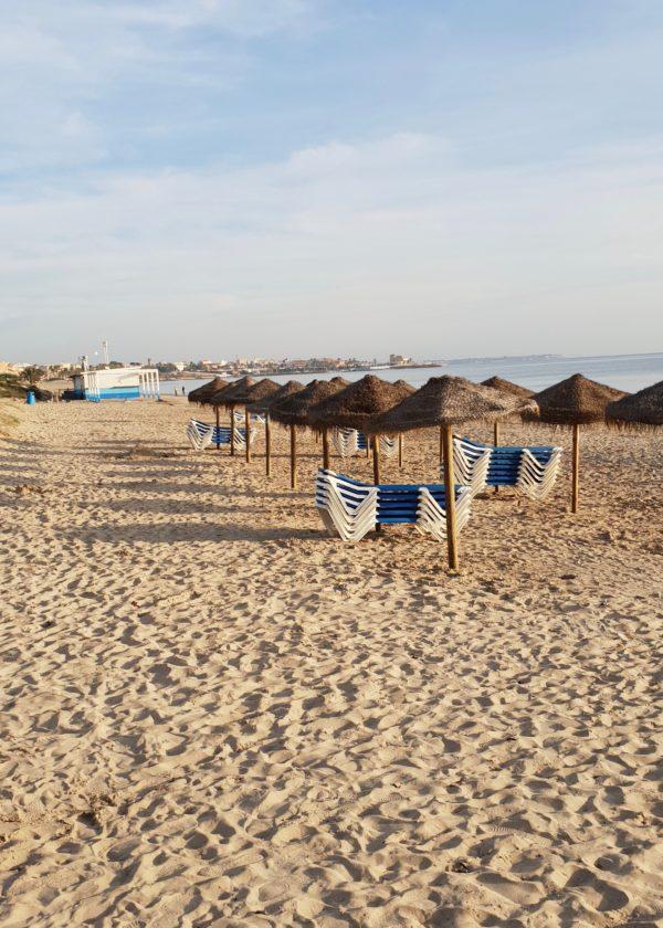 Stranden i Torre de la Horadada