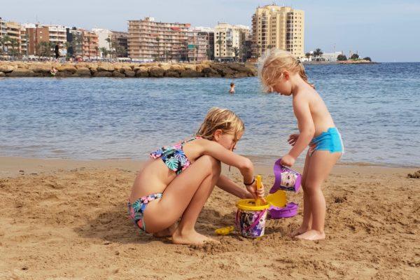 Stranden i Torrevieja