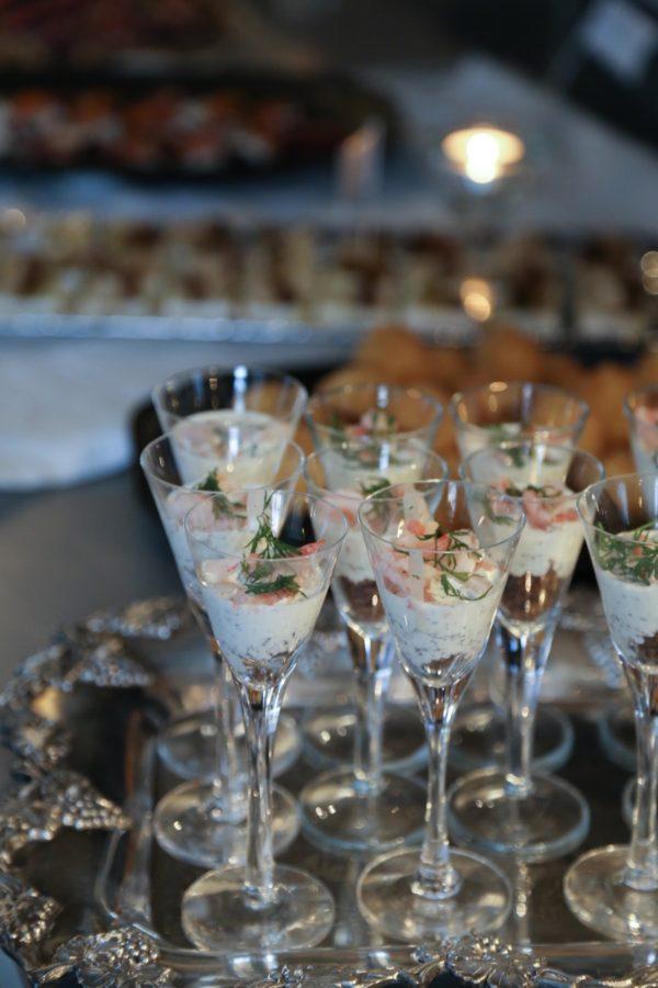 Räkcheesecake i glas