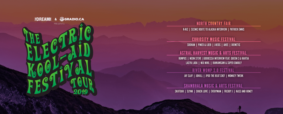 The Electric Kool-Aid Festival Tour