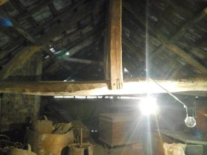 Loft suport beams