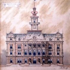 Jozef Cocek - Konkursni rad za Gradsku kuću