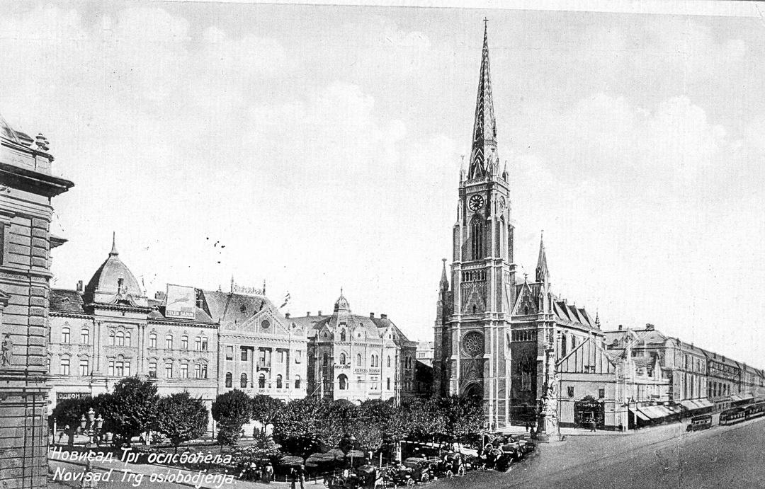 Župna crkva Svetog imena Marijinog, 1893-96.
