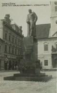 Varazdin, spomenik Kralju Aleksandru, 1935