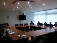 Sastanak s Komisijom za ostvarivanje ravnopravnosti spolova PSBiH, 2015.