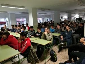 Unos 60 alumnos del Gregorio Fernández atentos a cómo crear un portal web