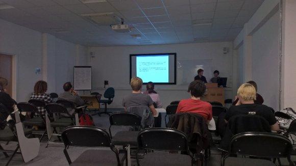 Hyper Luminal Art Workshop @ Get In The Game Abertay University