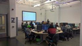 Ninja Kiwi Code Workshop @ Get In The Game Abertay University