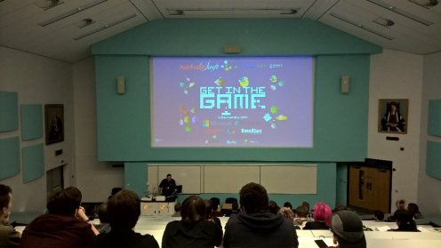 Mark Hope @ Get In The Game Teesside University