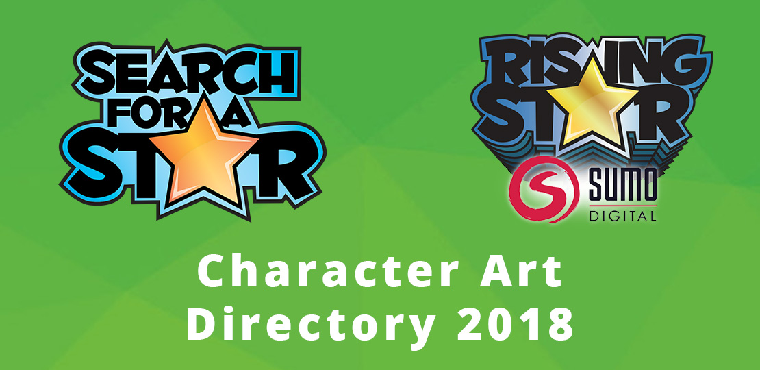 Search For A Star 2018 Games Character Art Directory