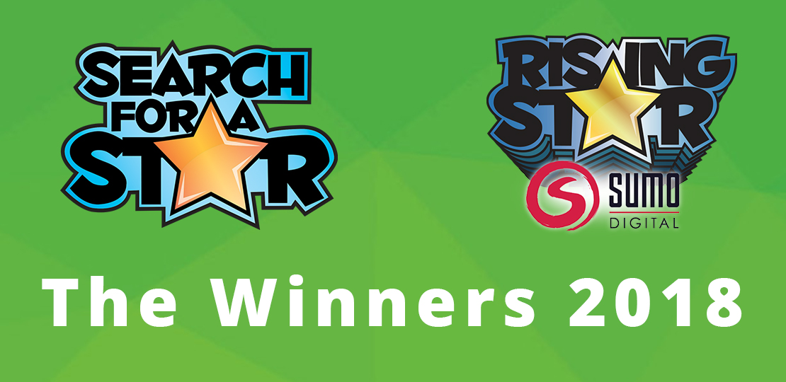 Search For A Star & Sumo Digital Rising Star 2018 : The Winners