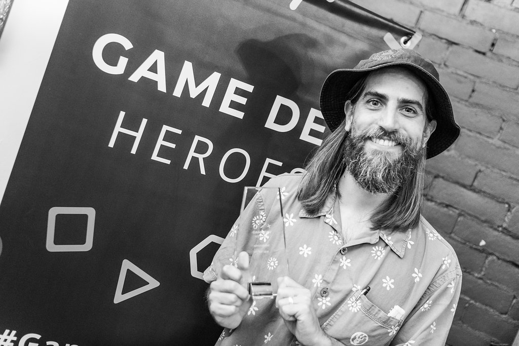 Thad Frogley - Game Dev Heroes Management Award