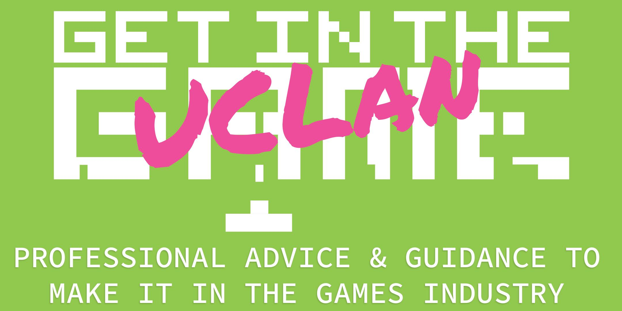 Get In The Game Careers Talks; UCLAN