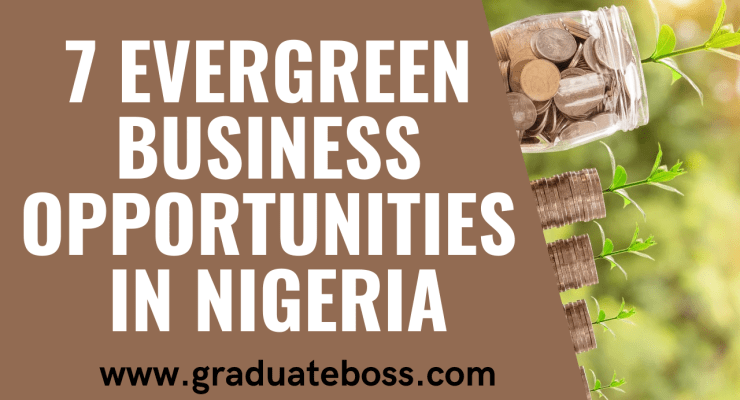 7 Evergreen Business Opportunities in Nigeria7 Evergreen Business Opportunities in Nigeria
