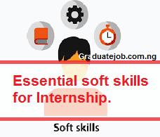 Essential soft skills for internship