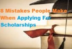8 Mistakes People Make When Applying For Scholarships