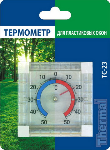 Термометр ТС-23 для пластиковых и деревянных окон ...