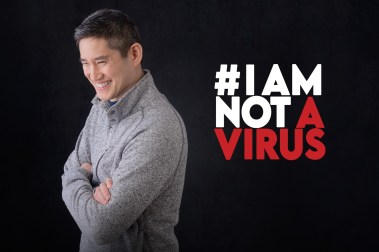 """I am not a virus. I am an adoption therapist, an advocate for mental health, and a father."" - Moses Farrow, co-creator of IAMNOTAVIRUS.INFO (Courtesy/ #IAMNOTAVIRUS)"