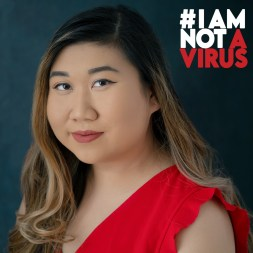 """I am not a virus. I am a Masters of Social Work student, a mental health advocate, and a healthcare worker."" -Kelly Ha, campaign manager (Courtesy/ #IAMNOTAVIRUS)"
