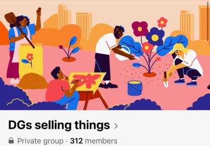 Το κεφάλαιο Shannon Marsh της Delta Gama λειτουργεί μια ομάδα στο Facebook όπου τα μέλη μπορούν να πουλήσουν ανεπιθύμητα αντικείμενα όπως μπλουζάκια ή άλλα αντικείμενα.  (Φωτογραφία ευγενική προσφορά / Shannon Marsh)