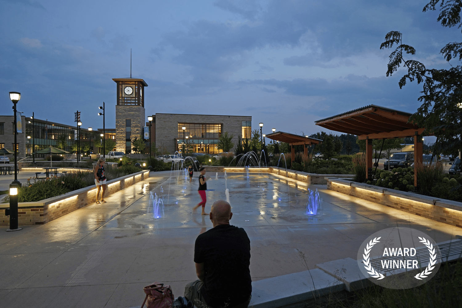 Drexel Town Square. Oak Creek, WI. 2020.