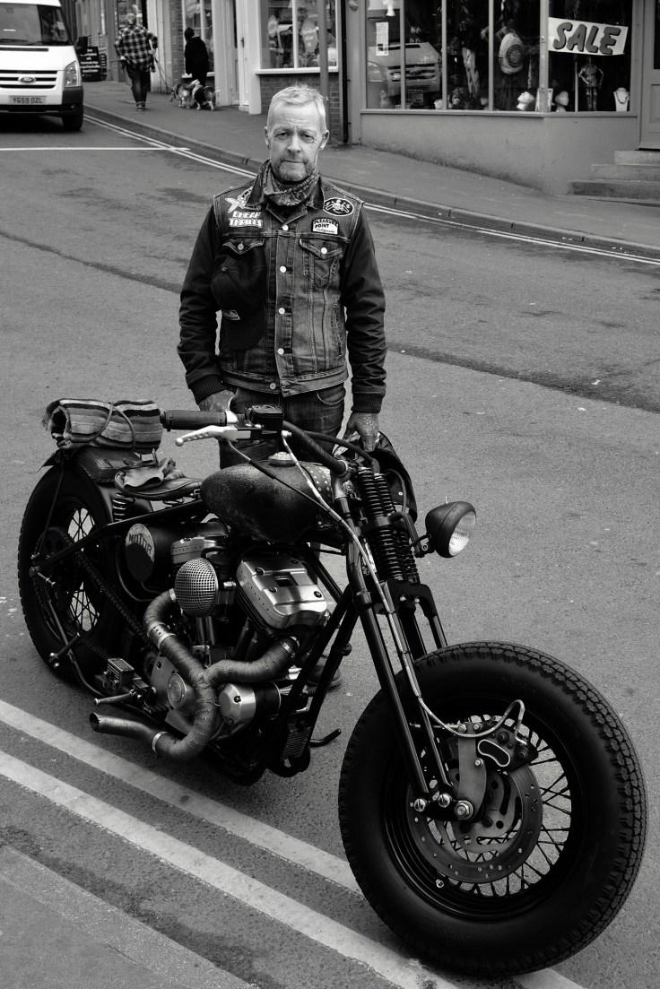 Whitby biker